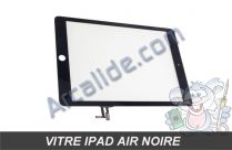 vitre tactile ipad air noir