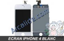 ecran iPhone 4 blanc