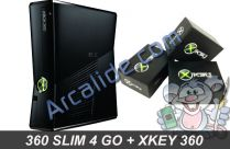 360 Slim 4 Go X360 key