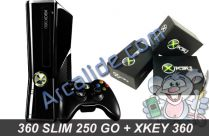 360 Slim 250 Go X360 key