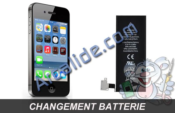 r paration batterie iphone 4s changement batterie iphone 4s rennes. Black Bedroom Furniture Sets. Home Design Ideas