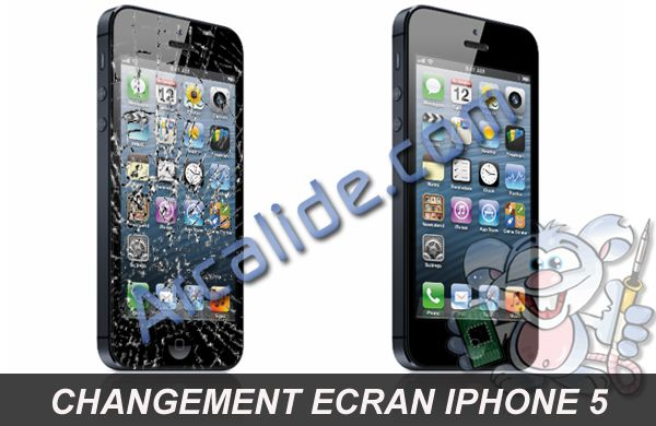 r paration cran iphone 5 changement cran iphone 5 rennes arcalide. Black Bedroom Furniture Sets. Home Design Ideas