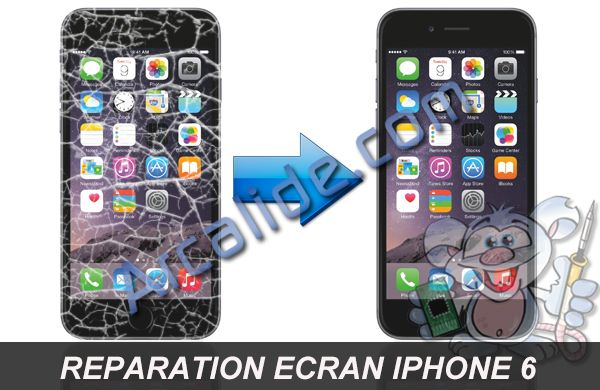 Reparation Ecran Iphone Rennes