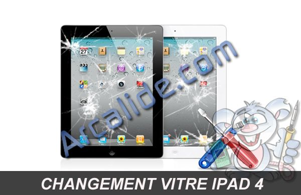 r paration ipad 4 changement cran tactile ipad 4 arcalide rennes. Black Bedroom Furniture Sets. Home Design Ideas
