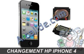 changer hp iphone 4