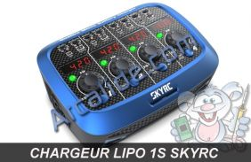 chargeur 4 batteries zugo