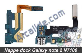 nappe dock galaxy note 2