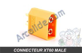 connecteur xt60 male