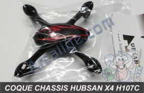 chassis h107c noir rouge
