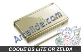 coque ds lite or zelda