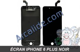 ecran iPhone 6 + noir