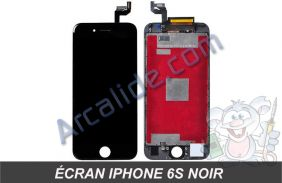 ecran iPhone 6s noir