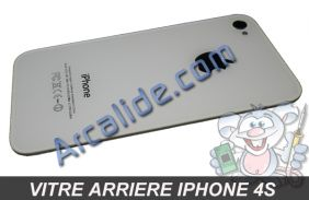 vitre arriere iPhone 4s