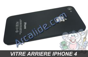 vitre arriere iPhone 4