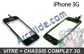 vitre iPhone 3g chassis