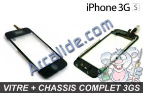 vitre iPhone 3gs chassis