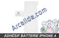 adhesif batterie iphone4