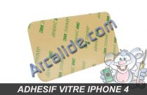 adhesif vitre iphone 4