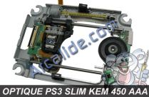 optique ps3 slim kem 450