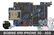 Bobine 6R8 iphone 3g 3gs