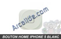 home blanc iphone 5