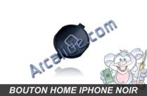Bouton home iphone noir