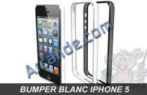 bumper iphone 5 blanc