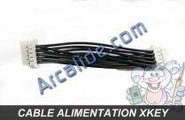 cable alimentation xkey