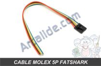 cable molex 5p tx video