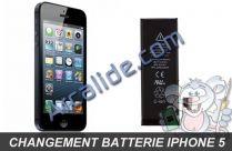 change batterie iphone 5
