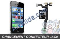 changer jack iphone 4s