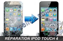repar ecran ipod touch 4