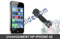 changer hp iphone 4s