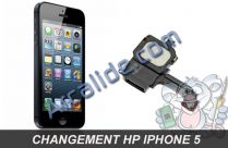 changer hp iphone 5