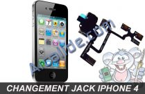 changer jack iphone 4
