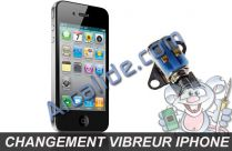 changer vibreur iphone4