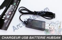 chargeur usb hubsan x4