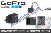 chargeur double hero 4