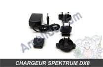 chargeur spektrum dx8