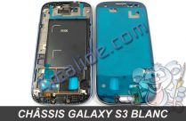 chassis galaxy s3 blanc