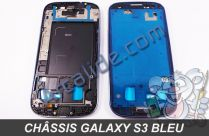 chassis galaxy s3 bleu