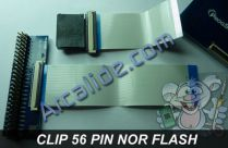 360 clip 56 pin nor flash