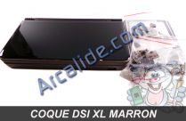 coque dsi xl marron