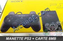 manette ps2 memory card