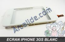 ecran iphone 3gs blanc