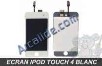 ecran ipod touch 4 blanc