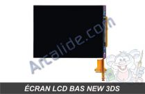 ecran lcd bas new 3ds