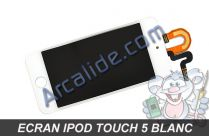 ecran ipod touch 5 blanc