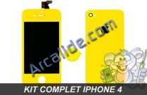 ecran iphone 4 jaune