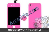 ecran iphone 4 rose